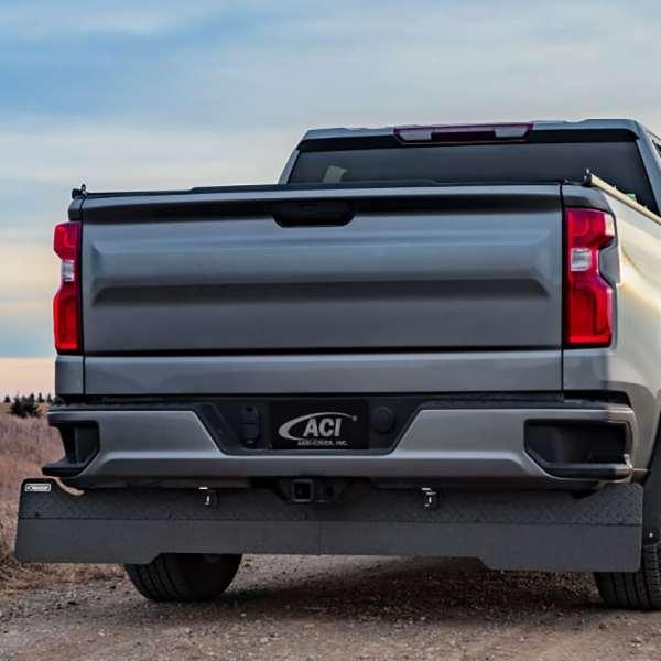 RockStar Full Width Towing Mud Flaps Installed on GMC Sierra