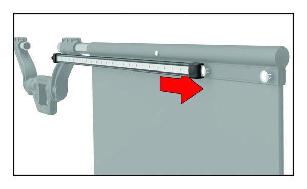 Slide Light Bar On via C Channel to Carriage Bolts