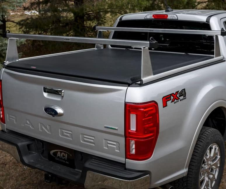 Rollup Tonneau & Sport Rack on Ford Ranger