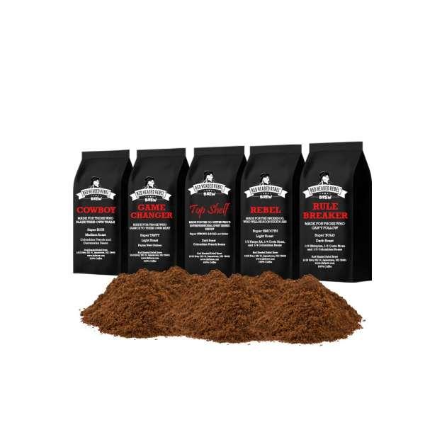 RHR Brew Coffee Sample Pack - Ground