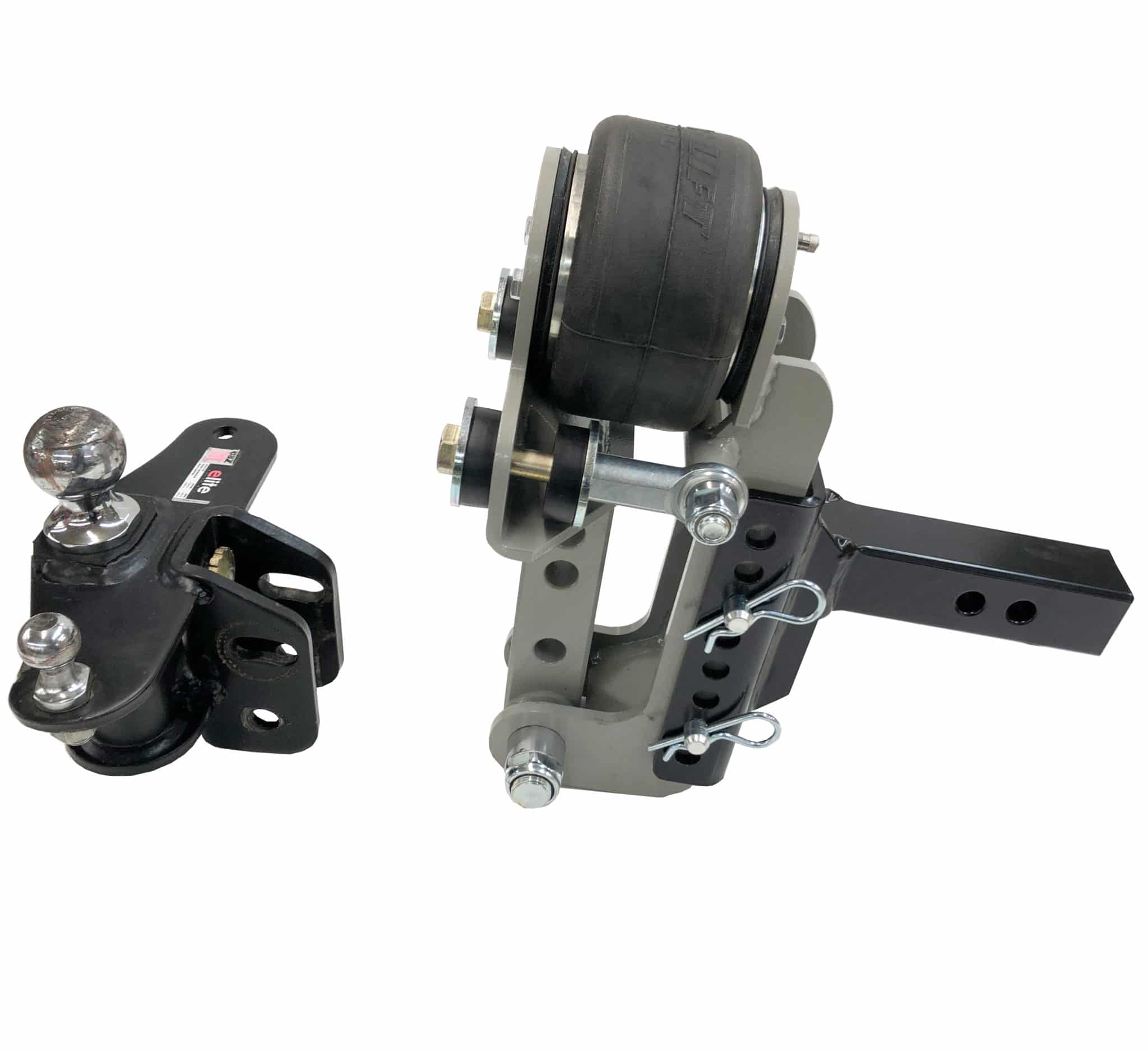 Shocker Air Equalizer Bolts to Existing W-D Hitch Head