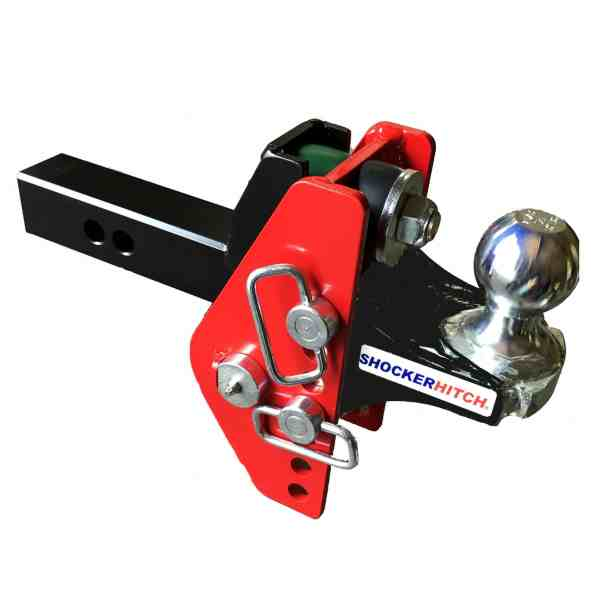 Shocker Impact Cushion Hitch with Ball