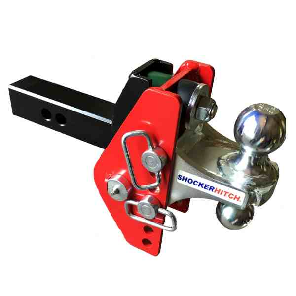 Shocker Impact Cushion Hitch Ball Mount – 12,000 lbs