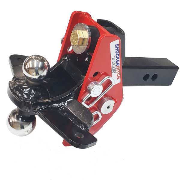 Shocker Impact Cushion Sway Control Combo Ball Mount