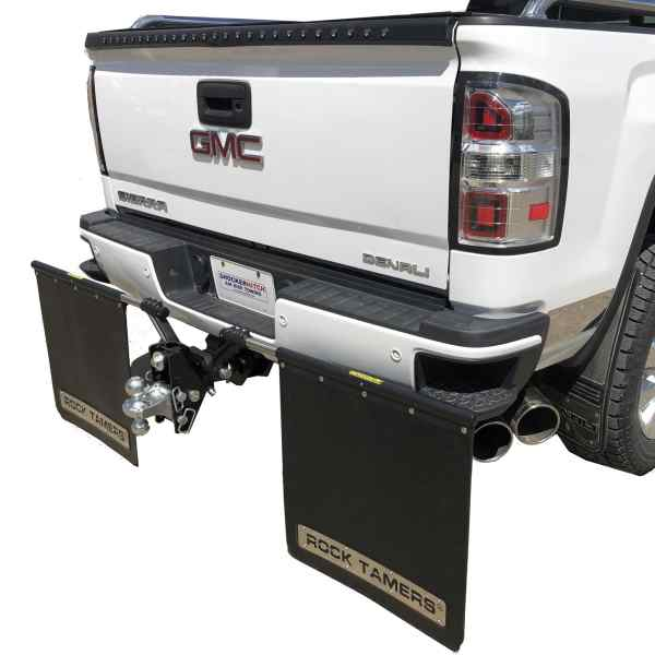 Shocker XRC Cushion Hitch with Hitch Mounting Towing Mud Flaps