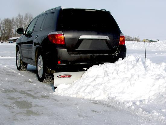 Snowsport 180 Plow on SUV