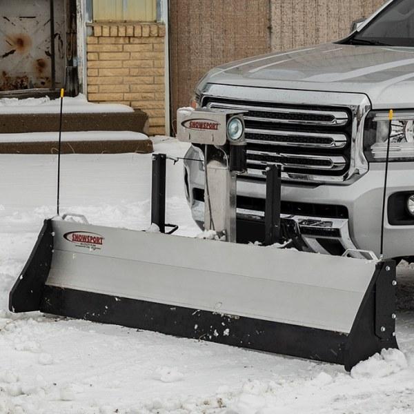 SnowSport Utility Snow Plow with Electric Winch