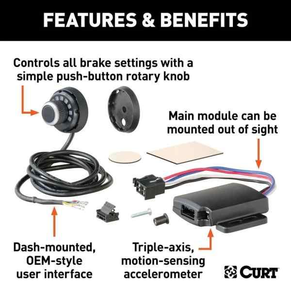 Spectrum Trailer Brake Controller Complete Kit