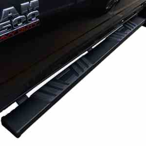 Steelcraft STX500 6″ Matte Black Running boards Black Running Boards
