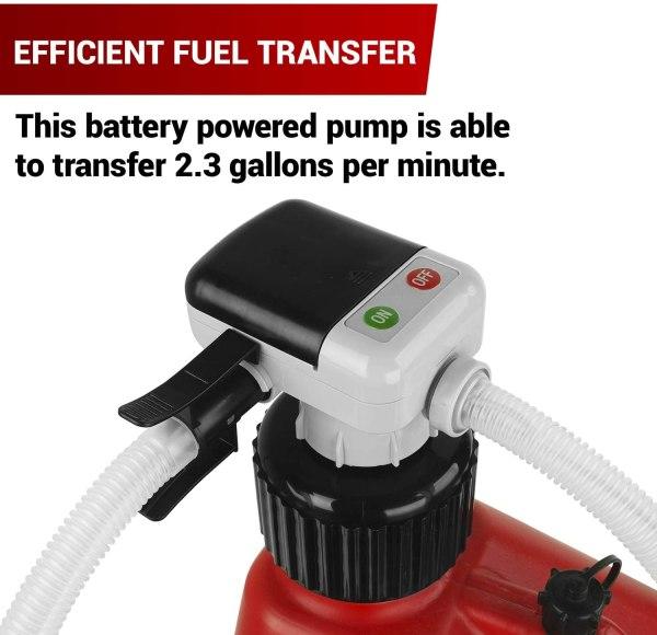 2.3 GPM Follow - AA Battery Powered