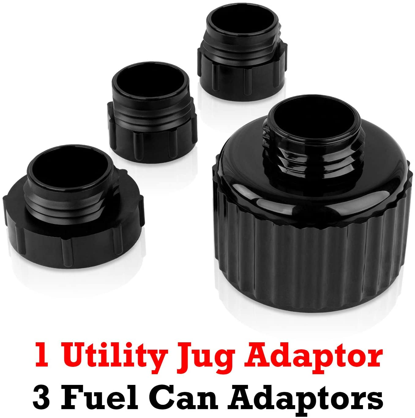 4 Adapters for Virtual All Race Fuel Jugs