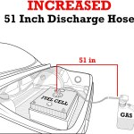 """51"""" Discharge Hose for Fueling"""