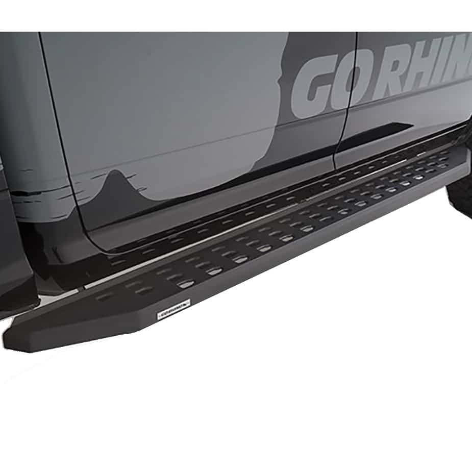 RB20 Running Boards with Matte Black Textured Finish