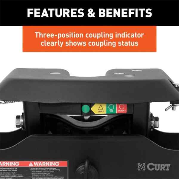 Three Position Coupling Status Indicator