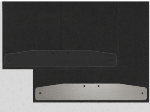 Comes with Reversible Trim Plates (Choose Black or Clear Aluminum)
