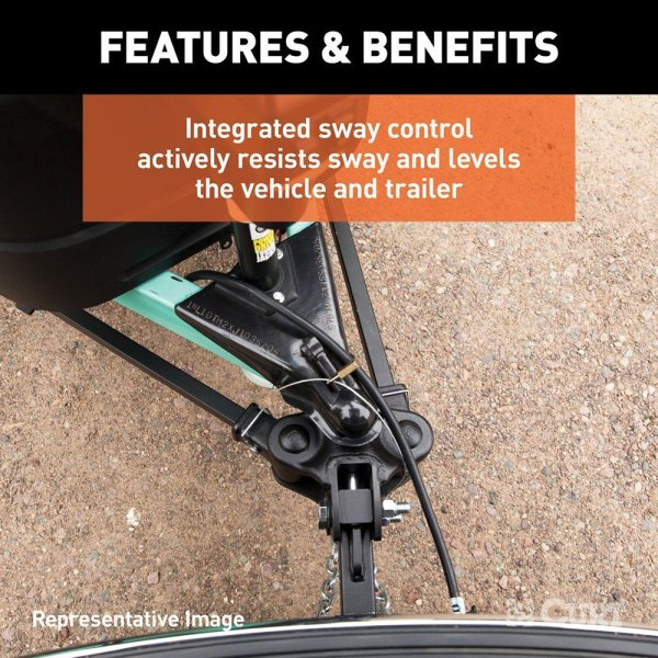 Trutrack Hitch with Sway Control