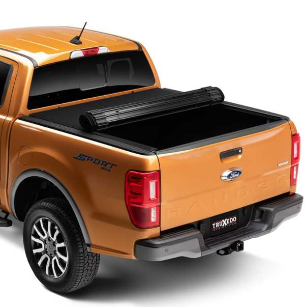 Truxedo Sentry CT Ford Ranger Tonneau Rolling Up