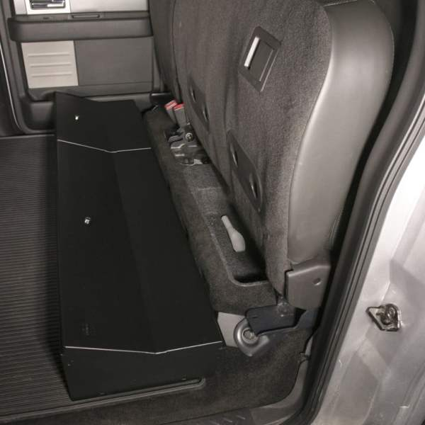 Tuffy Under Seat Lock Box - Ford F150 Super Crew