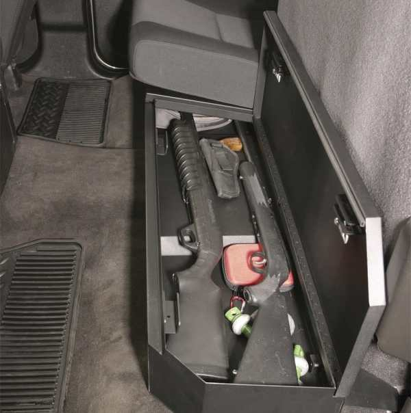 Tuffy Rear Underseat Lock Box
