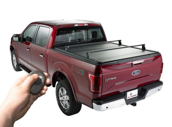 Remoted Powered Tonneau Cover