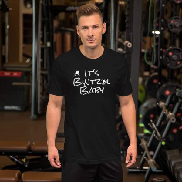It's Bintzol Baby Black T-Shirt Front