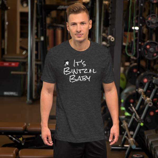 It's Bintzol Baby Dark Grey T-Shirt Front
