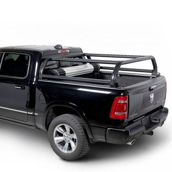 Putco Venture TEC Overlanding Truck Rack on Ram Truck