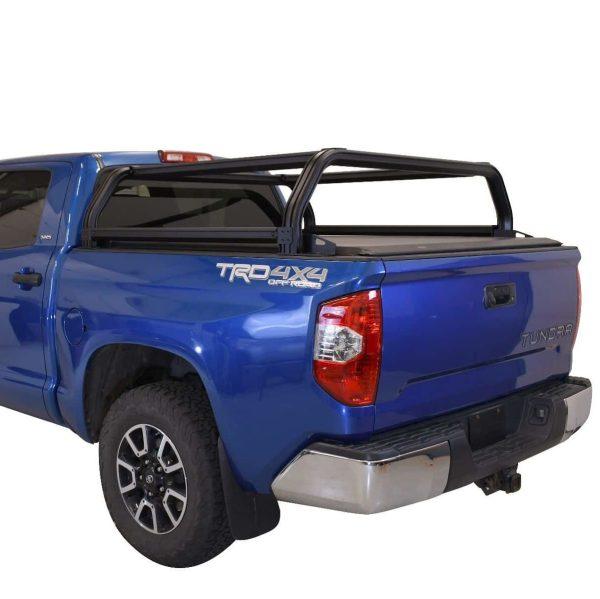 Putco Venture TEC Overlanding Truck Rack on Toyota Tundra