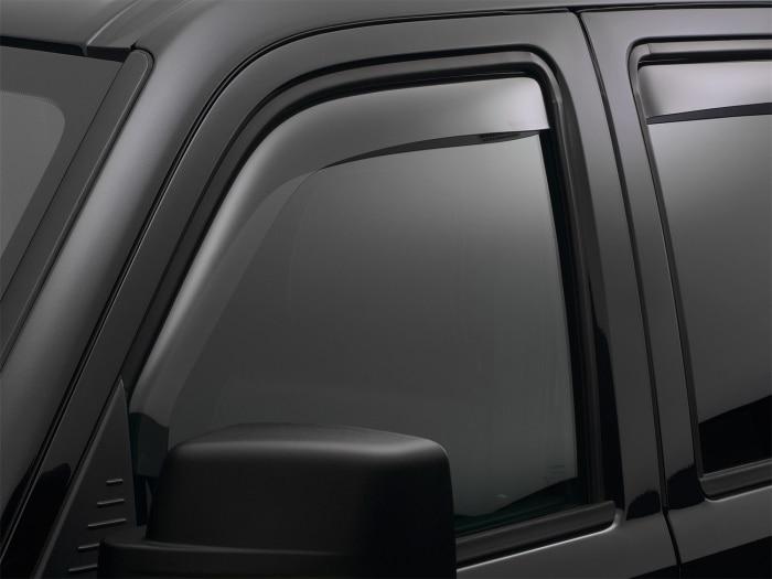 Dark Smoke Finish - Weathertech Window Deflectors