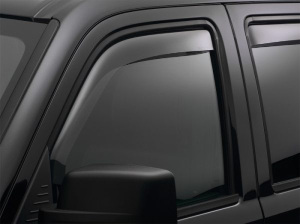 Dark Smoke Finish - Weathertech Window Deflectors